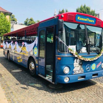 Eindecker Cabrio Bus